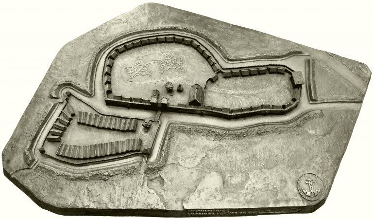 Nienborg in 1300